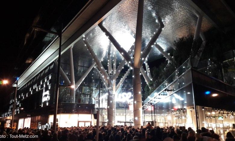 Photo of Grosse foule à l'ouverture de Muse à Metz (vidéos et photos)
