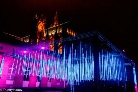 Platonium à Metz : spectacle son et lumière hypnotisant au pied de la cathédrale (photos)