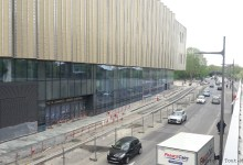 Photo of La façade du nouveau Centre des Congrès à Metz baptisée