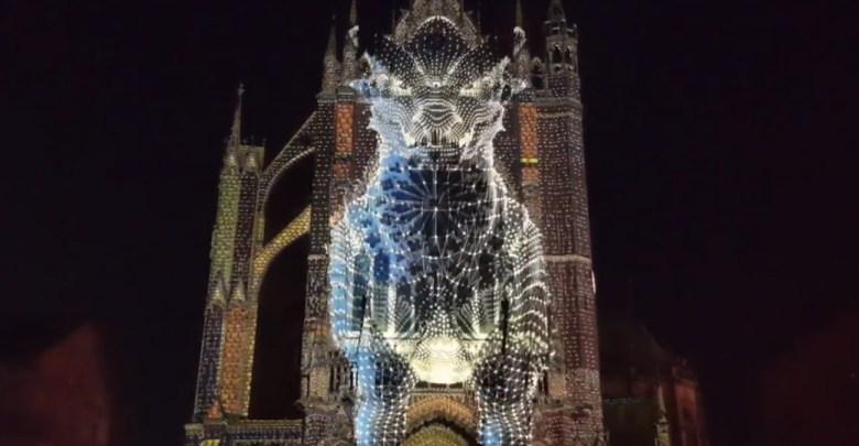 Photo of Vidéo : le nouveau mapping de la cathédrale de Metz en avant-première