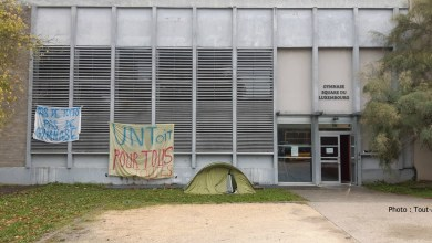 Photo of Metz : occupation du gymnase de Luxembourg