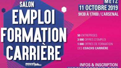 Photo of Moovijob Tour Metz 2019 : 3 000 offres d'emploi, 1 000 offres de formation
