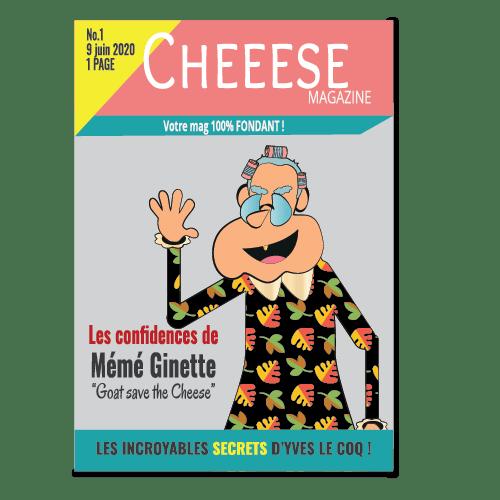 Le magazine du fromage avec Mémé Ginette