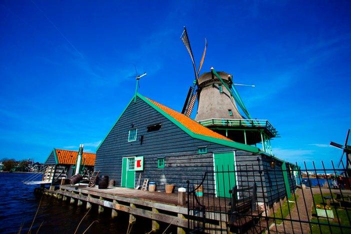 Куда можно съездить из Амстердама: в музей Заансе-Сханс