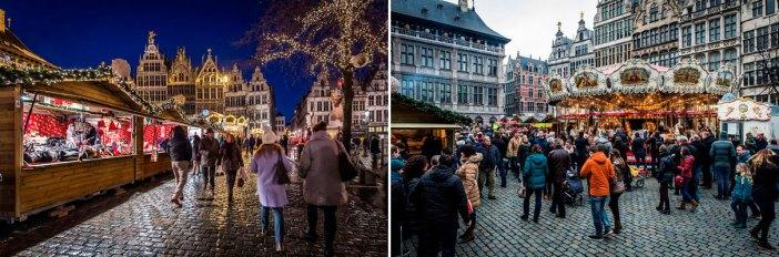 Лучшие рождественские ярмарки в Антверпене