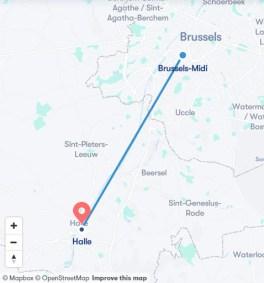 Как добраться до Халлербоса (маршрут)
