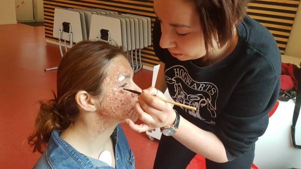 Jour 4 : maquillage
