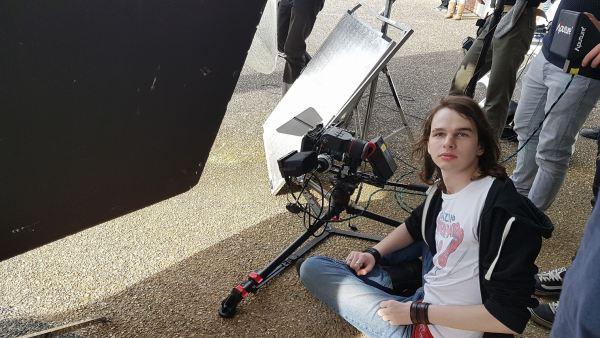 Jour 3 : tournage au lycée Louise Michel