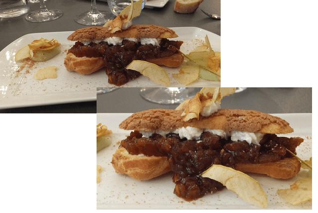 Dessert Le Pampre