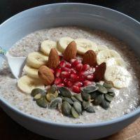 Recette de porridge aux graines de sarrasin, pour changer