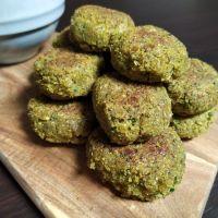 La recette du falafel vert!