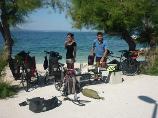 Les manouches sur les plages croates
