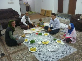 A Yazd, chez Meyssam et Elham !