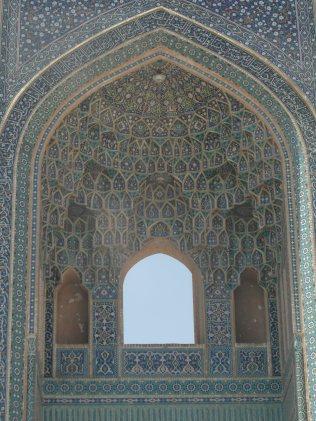Les interieurs superbes de mosquees a Yazd