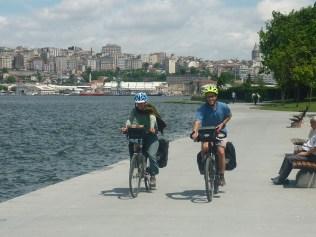 Départ d'IStanbul à vélo
