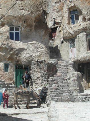 Kandovan, un village troglodyte