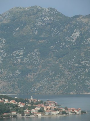 Vue du chateau de Kotor