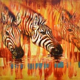 cadre-contemporain-zebres-80x60cm