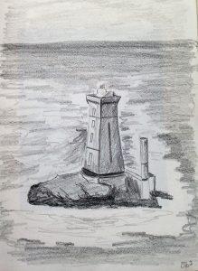 Apprendre dessiner un phare tr s rapidement art express - Dessin de phare ...