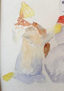 Peindre un personnage