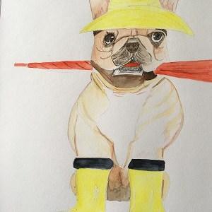 Comment peindre facilement un chien à l'aquarelle