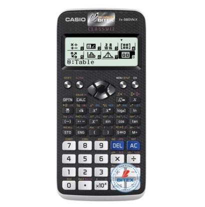 Máy tính học sinh Casio fx-580VN X được mang vào phòng thi