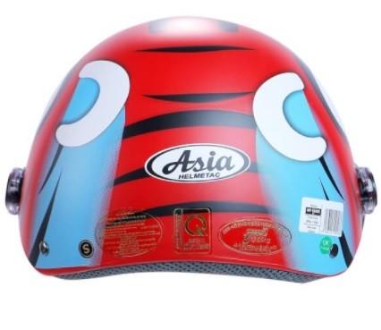 Mũ (nón) bảo hiểm cho bé Asia MT – 103KS kiếng che chắn bụi
