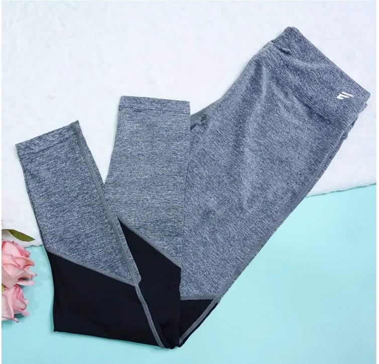 Thời Trang Nữ Quần Dài Hỗ Trợ Tập Thể Thao 061 - Màu Grey
