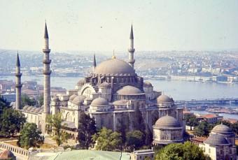 la mosquée de Soliman istanbul