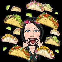 Bitmoji tacos fille