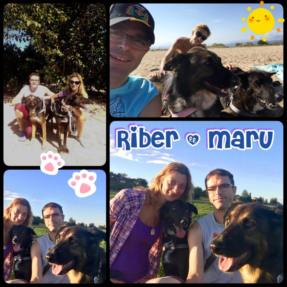 Adoption de Maru et Riber