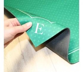 tapis jeu 60 x 60 cm vert motif mini atouts nord sud tarot