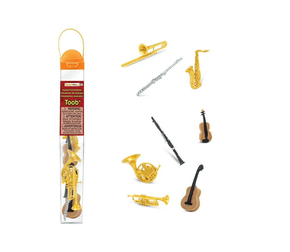 8 instruments de musique figurines jouet