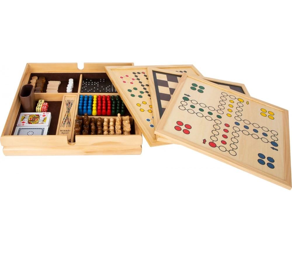 grand coffret 20 jeux traditionnels en bois