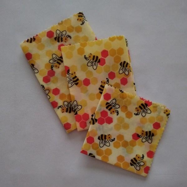 Bee wrap - Abeilles