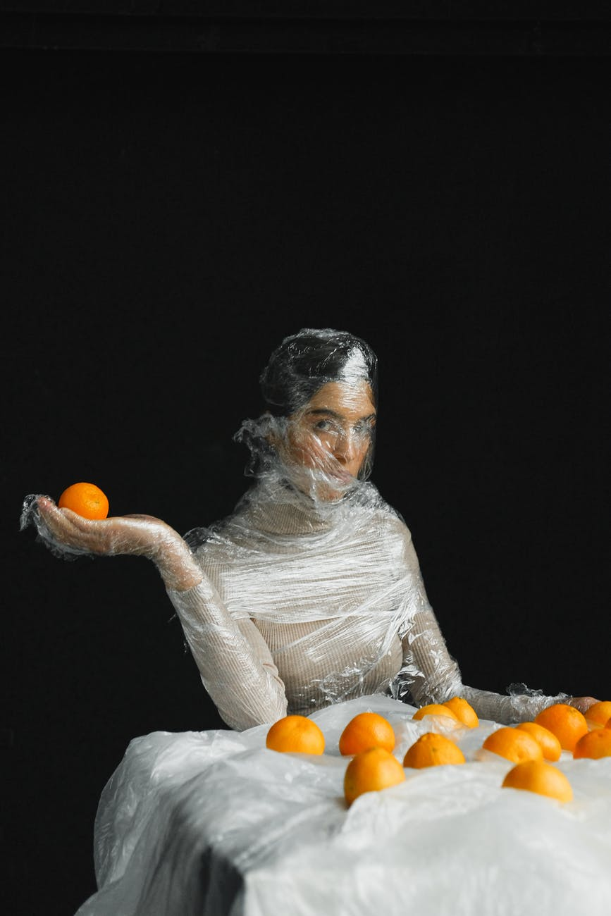 person woman model fruits