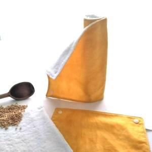 Art de la table - Essuie-Tout Lavables - Ocre Moiré