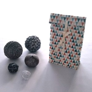 Emballages - Pochettes cadeaux - Triangles - Multicolore