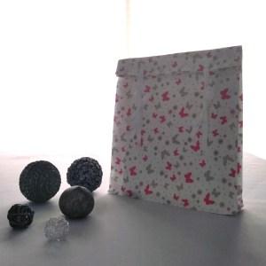 Emballages - Pochettes cadeaux - Papillons Roses