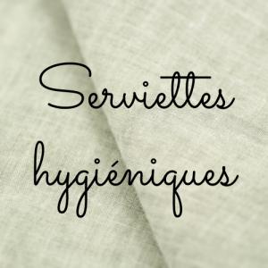 Bien-être - Serviettes hygiéniques