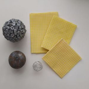 Emballages Alimentaires - Bee Wraps - Carreaux