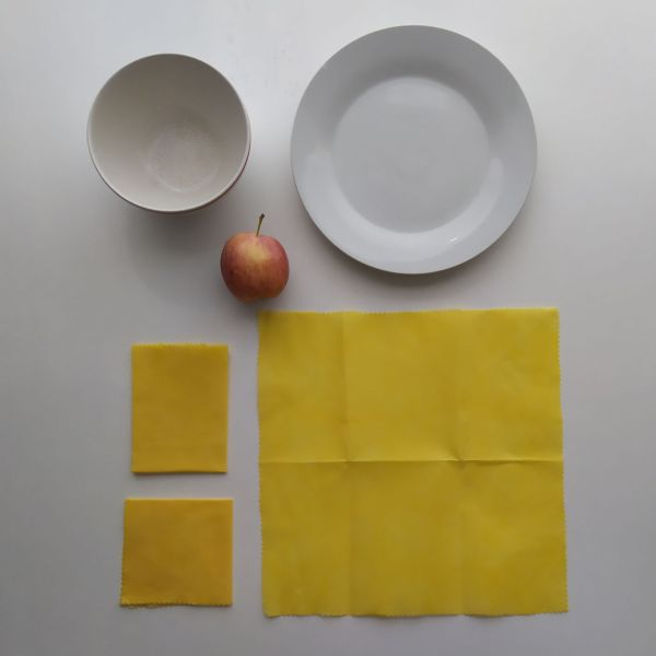 Emballages Alimentaires - Bee Wraps - Jaune