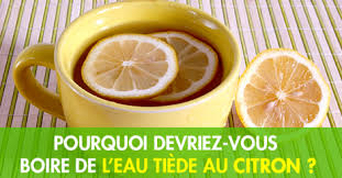 boire un jus de citron le matin a jeun
