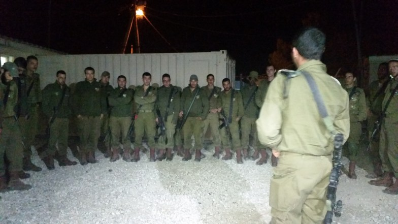 Chayalim and their Sergeant