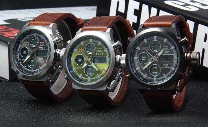 ba1e95a8b94b Amst (АМСТ) армейские наручные часы  купить, цена, отзывы, обзор