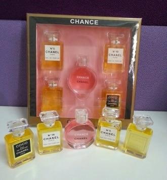 Набор парфюма Chanel из 5 ароматов  купить, цена, доставка, отзывы 41698b450bd
