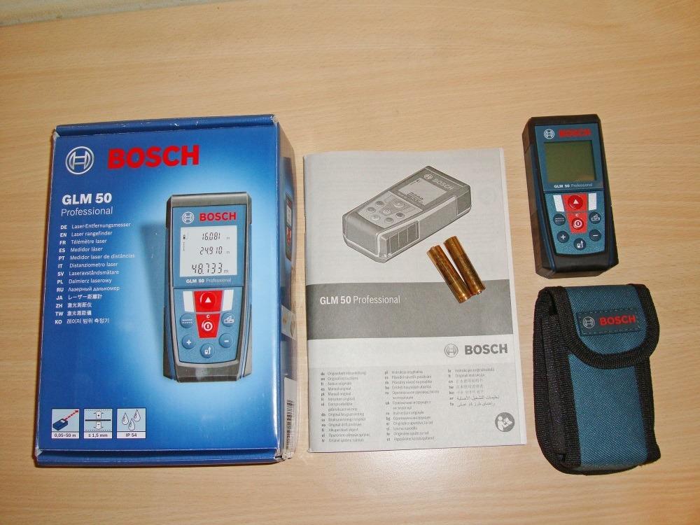 Laser entfernungsmesser glm 50 c professional: laser