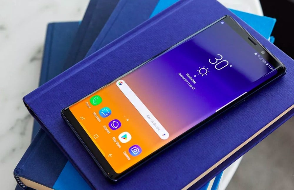 Внешний вид точной копии Samsung Galaxy note 9