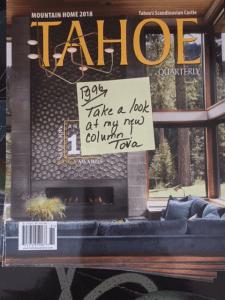Tahoe Quarterly magazine