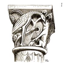 Fabliau.sur.pilier.cathedrale.Autun
